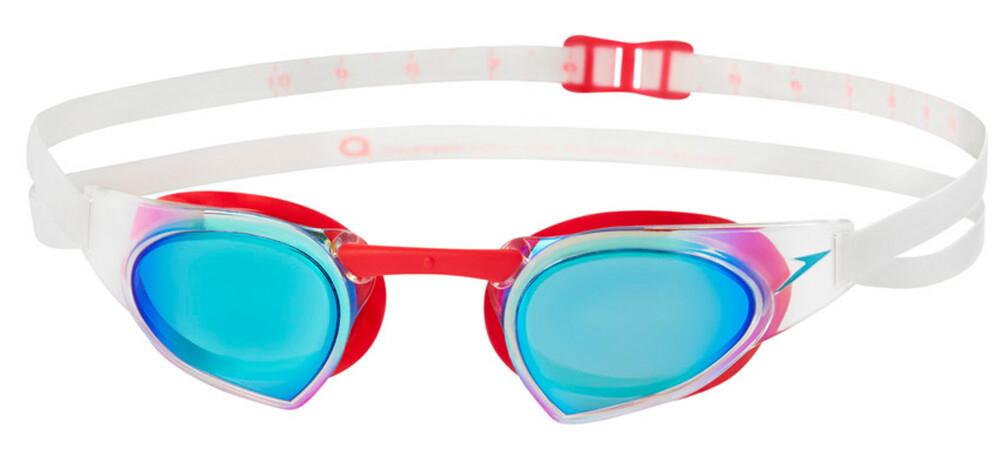 speedo Fastskin Prime Mirror - Lunettes de natation - rouge/noir 2018 Lunettes de natation v43KZ9xv